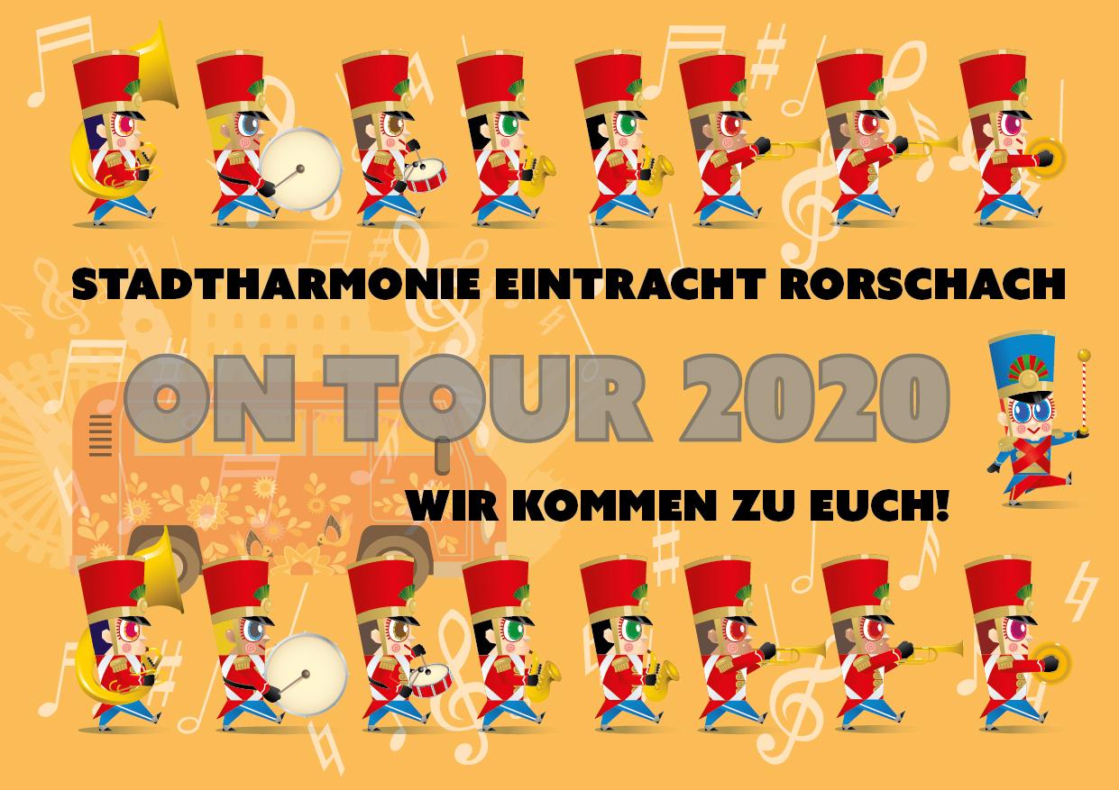 Erste Seite des Corona-Flyers der Stadtharmonie Eintracht Rorschach