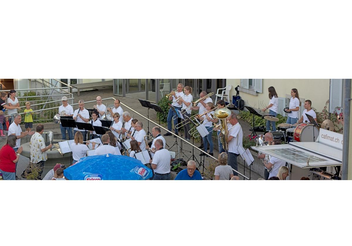 Schnappschuss vom Sommerfest des HPV